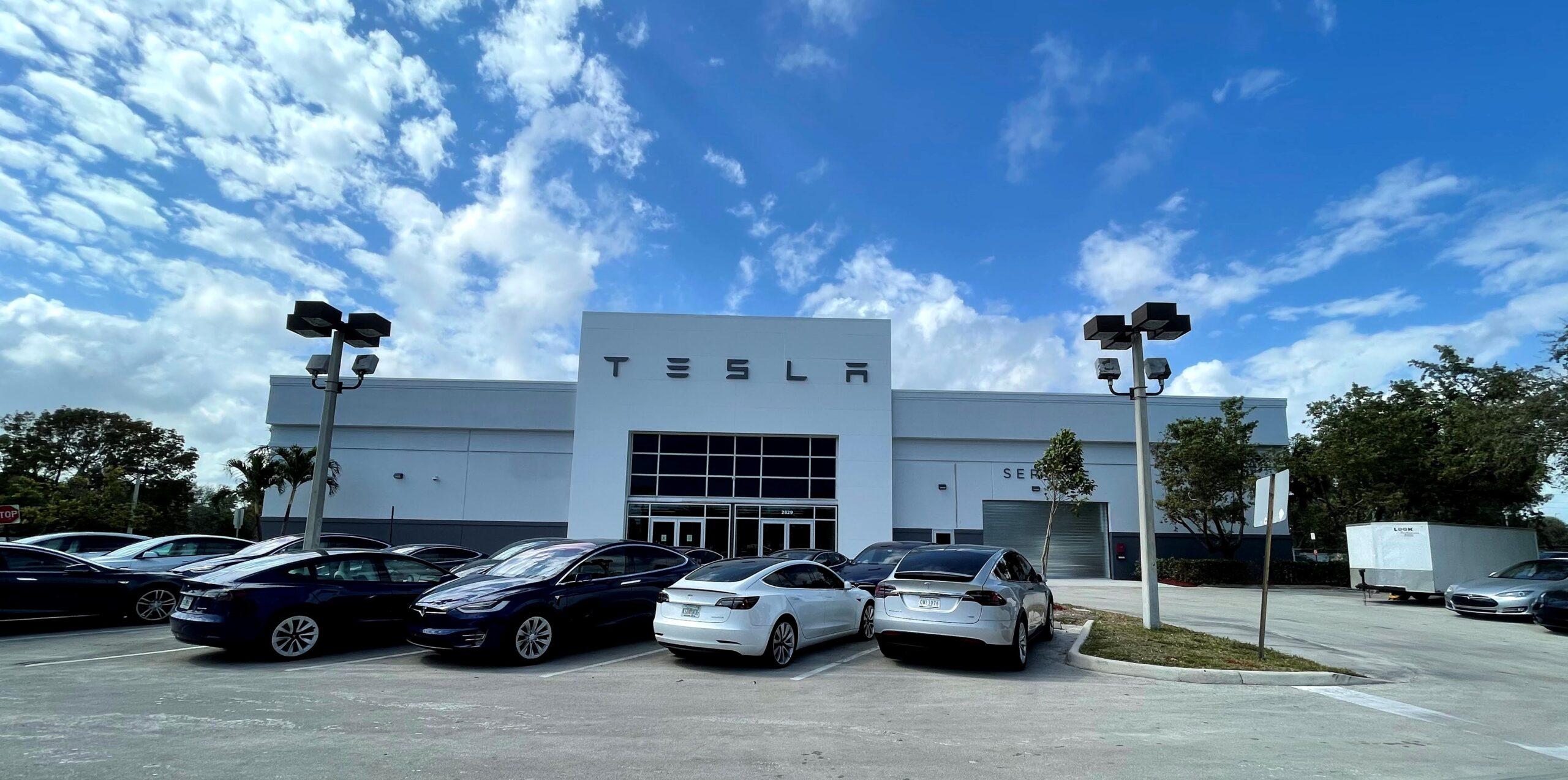 Tesla Fort Lauderdale Service Center Front Image